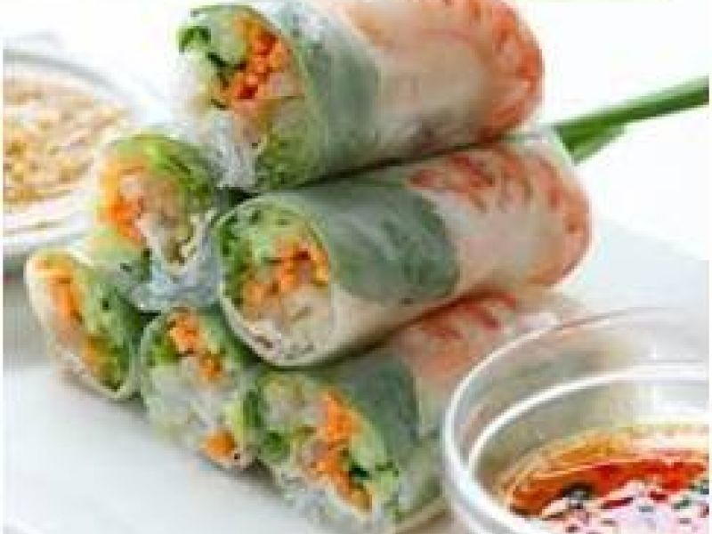 Vietnamese Rice Paper Roll