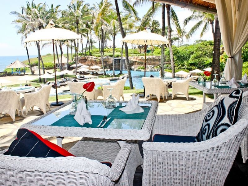 Driftwood Restaurant at Pan Pacific Nirwana Bali Resort