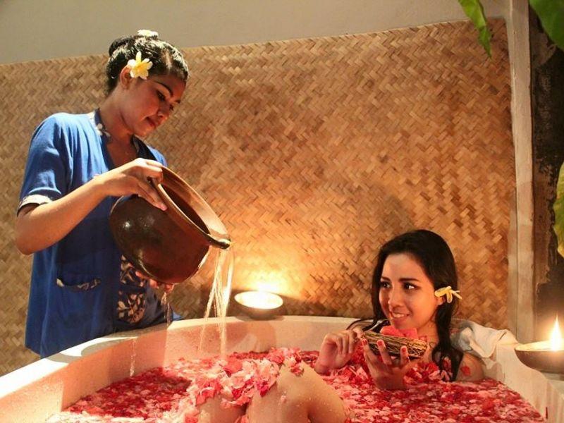 Flower Bathing