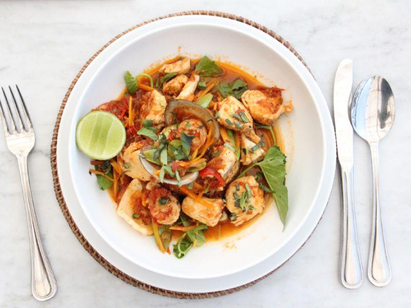 Balinese-style Paella