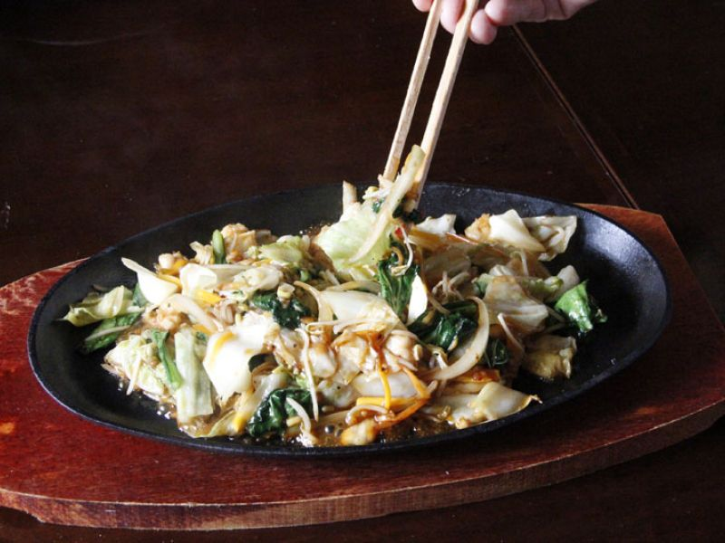 Teppan Stir Fried Mixed Vegetables