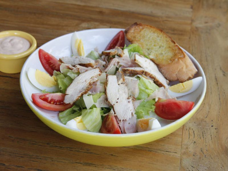 Dijon Chef's Salad