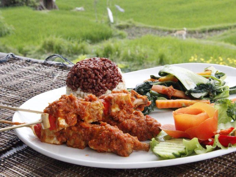 Vegetarian Kebab