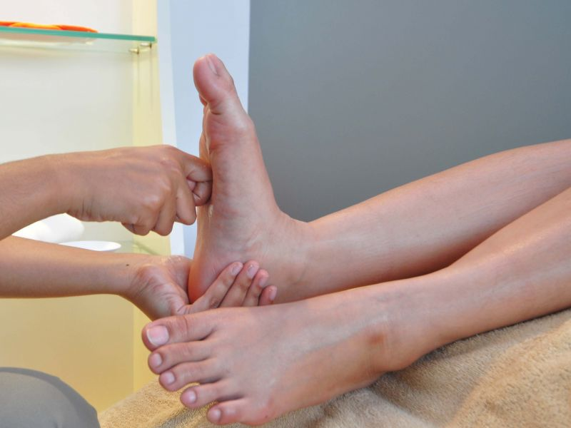 HAPPY FEET Reflexology  (45 min)