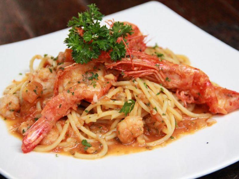 Spaghetti King Prawn