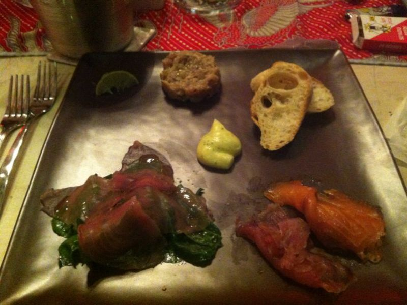 Homemade Trio Smoked Fish