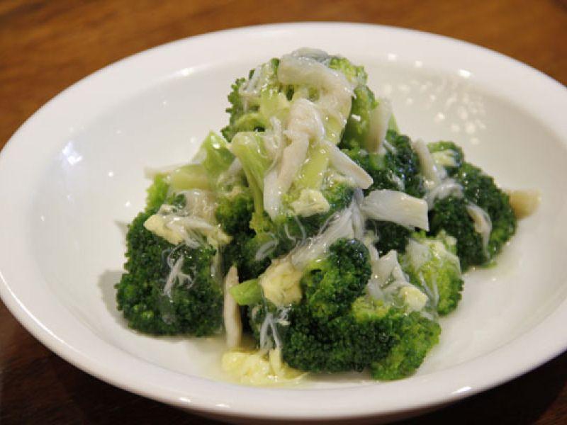 Brokoli Siram Kepiting