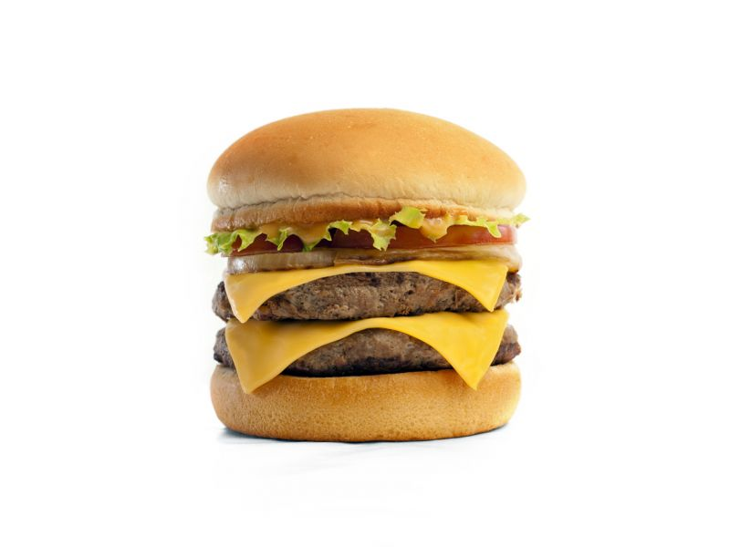 Double Cheeseburger - Small