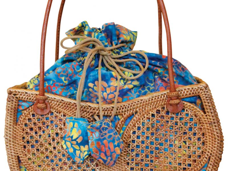 Butterfly Ata Bag