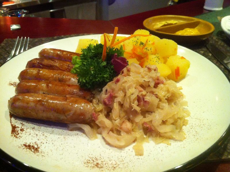 Pork Fillet 'Zurich' Style