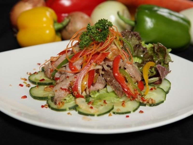 Spicy Beef Salad Thai Style