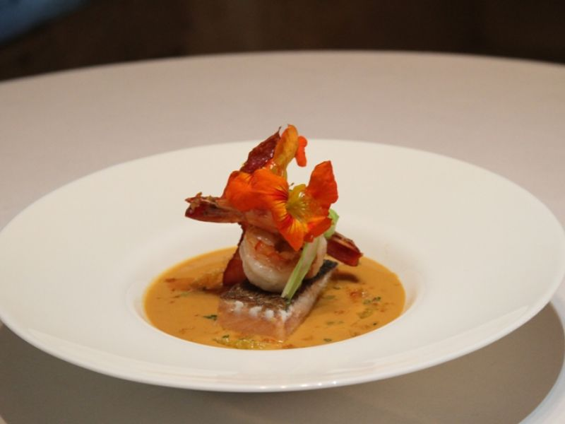 Seafood Carrot Veloute