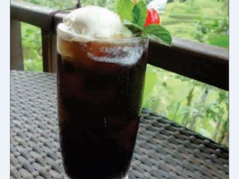 Iced Coffee Float