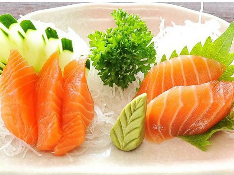 Salmon Sashimin