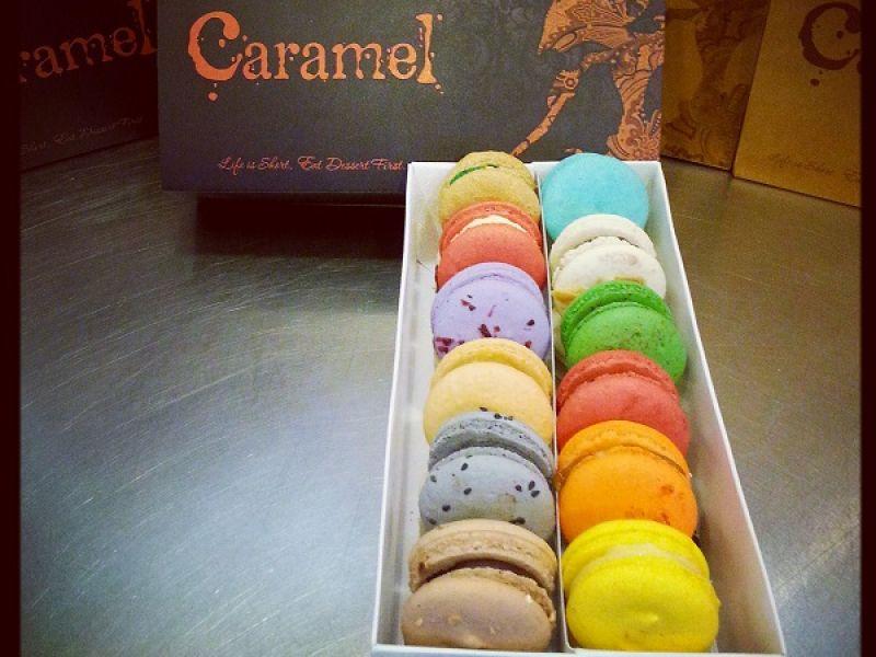 Caramel's Signature Macarons