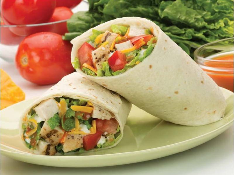 Thai Chicken or Beef Wrap