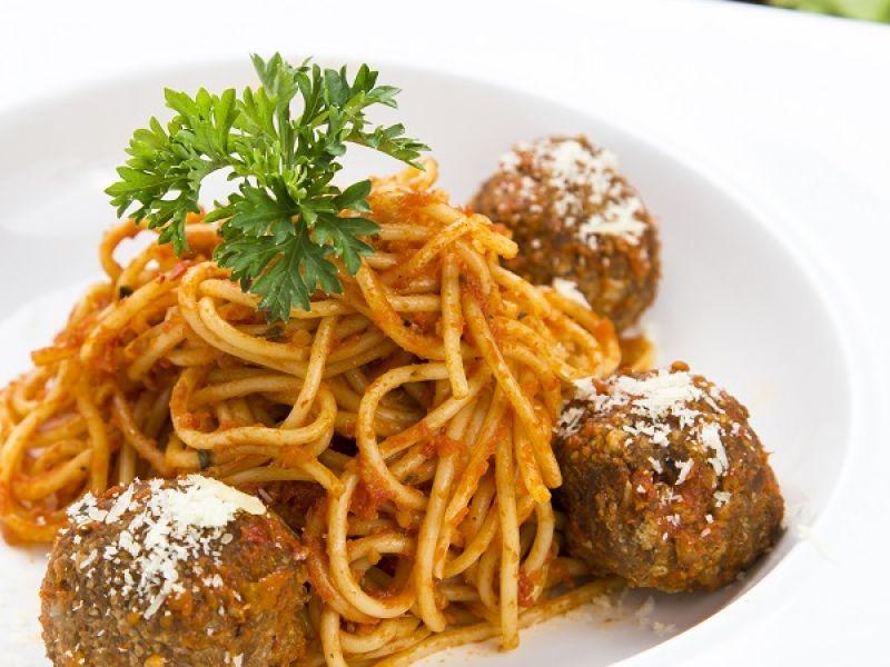 Spaghetti Polpette Ala Italiano