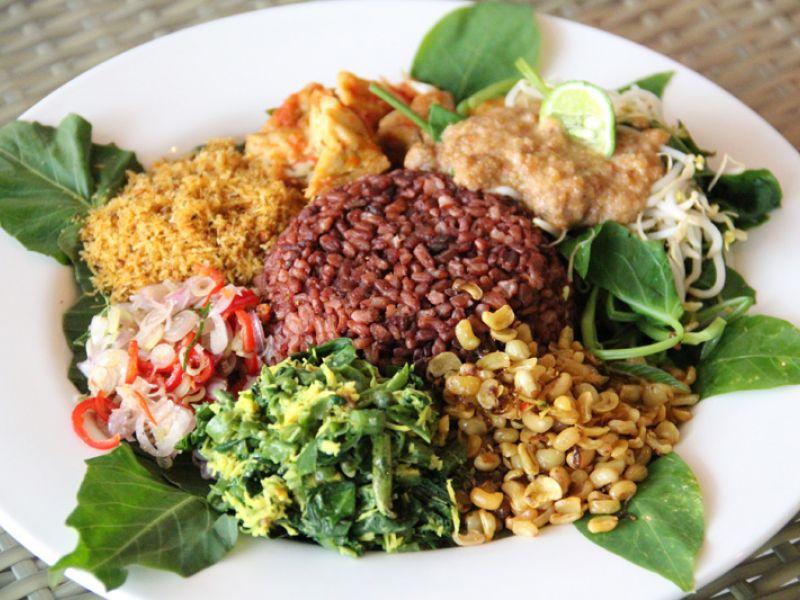Vegetarian Nasi Campur