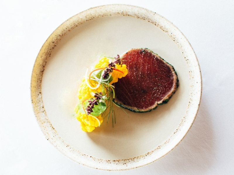 Yellow-Fin Tuna Tartar