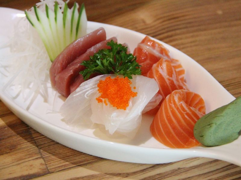 3 kinds of Sashimi