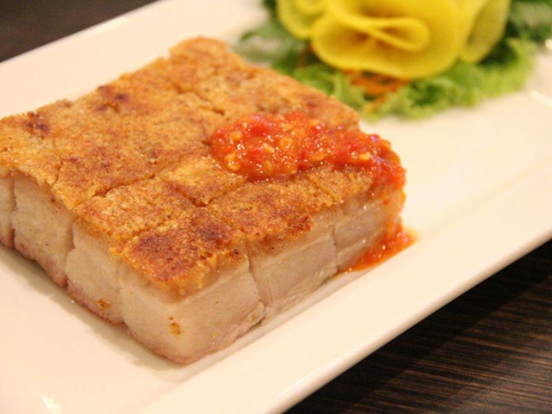 Crispy Roaster Pork Belly