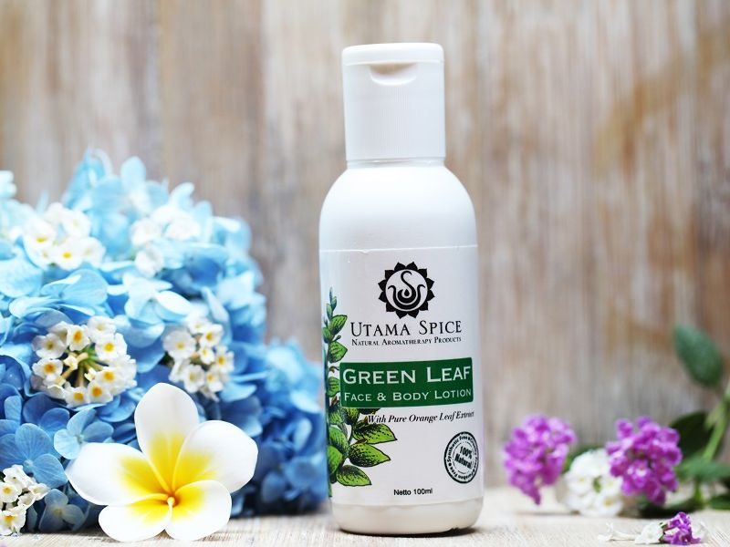 Green Leaf Face and Body Lotion