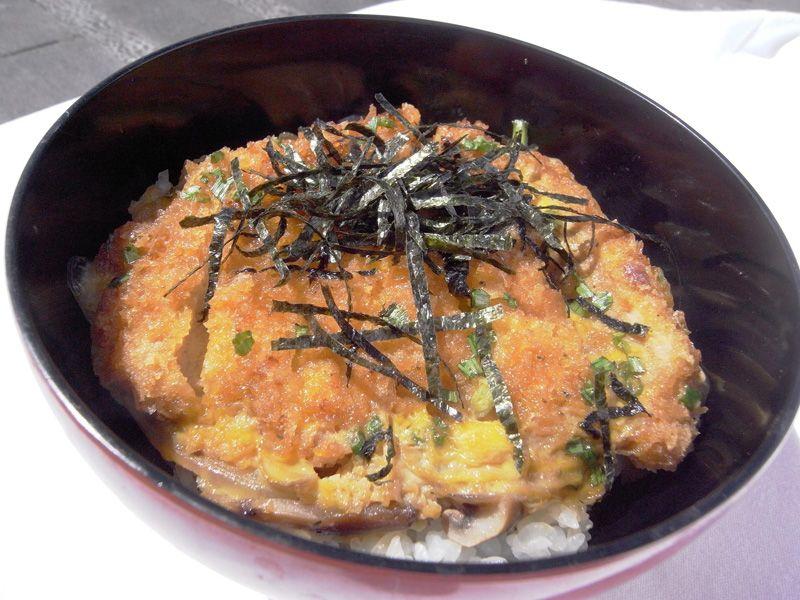Katsu Don (Pork Cutlet Rice)
