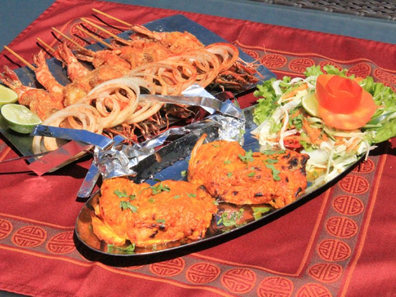 Chicken Tandoori (Photo below )
