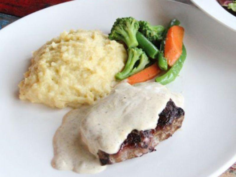 Farmer Style Steak (Photo left)
