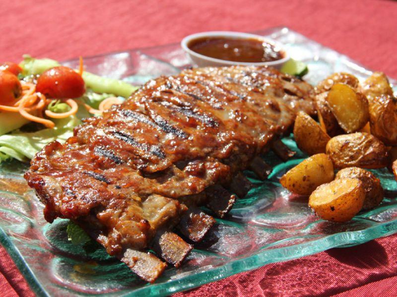 Barbeque Pork Ribs