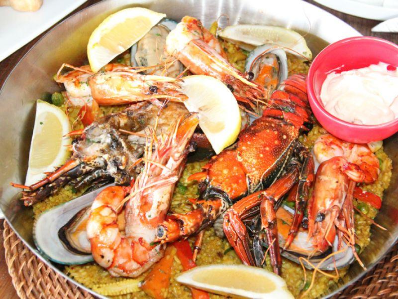 Seafood Paella (R) 320000