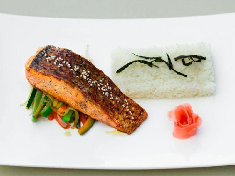 Salmon Teriyaki