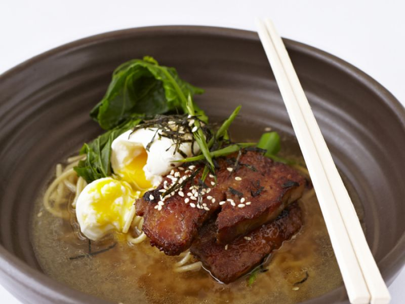 Pork Belly Ramen (lunch menu)