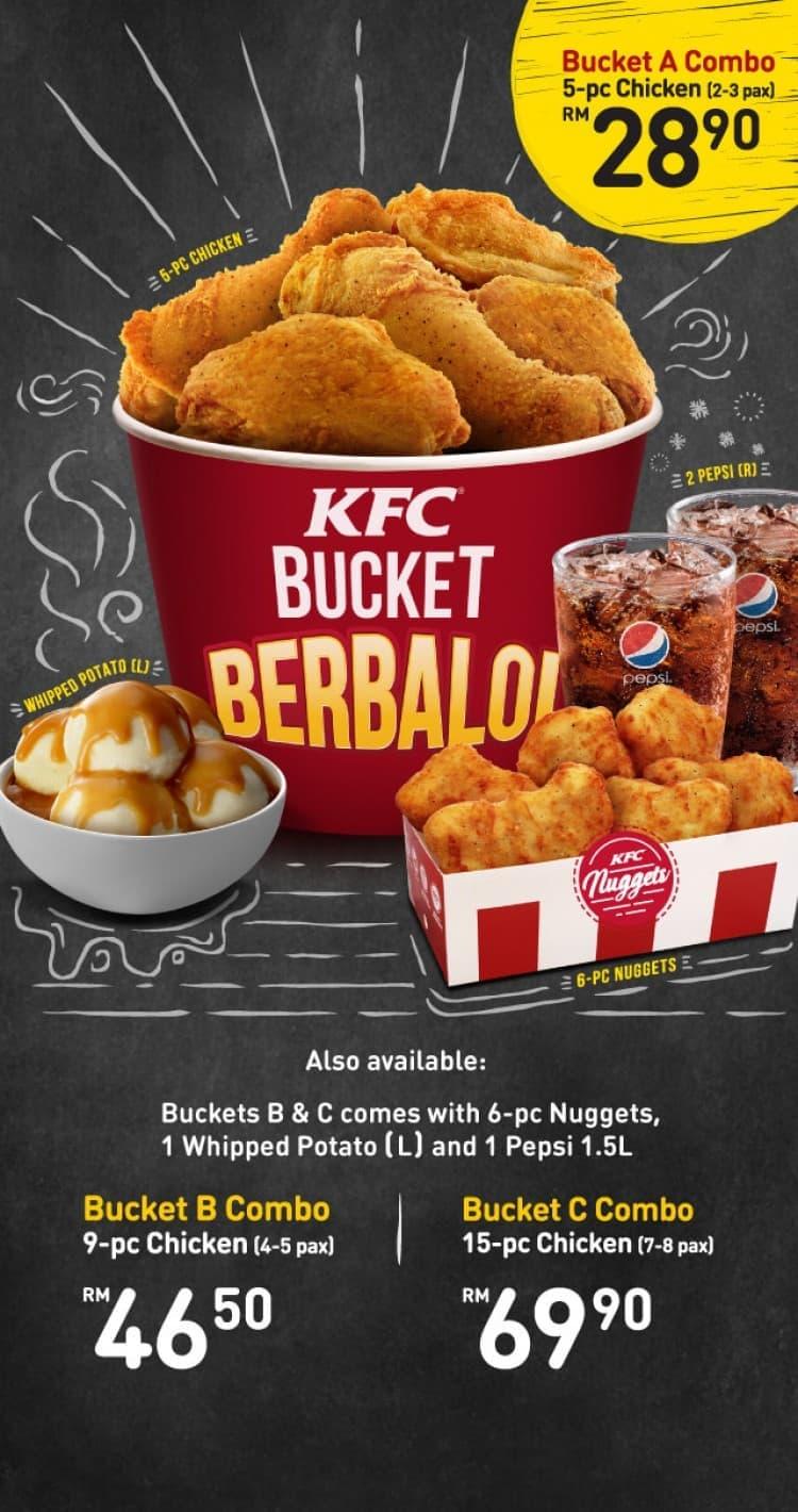 New KFC Bucket Berbaloi | LoopMe Malaysia
