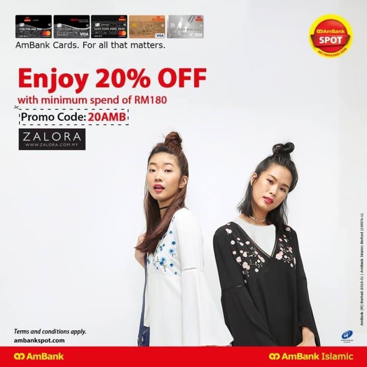 Ambank Card Promotion On Zalora Loopme Malaysia