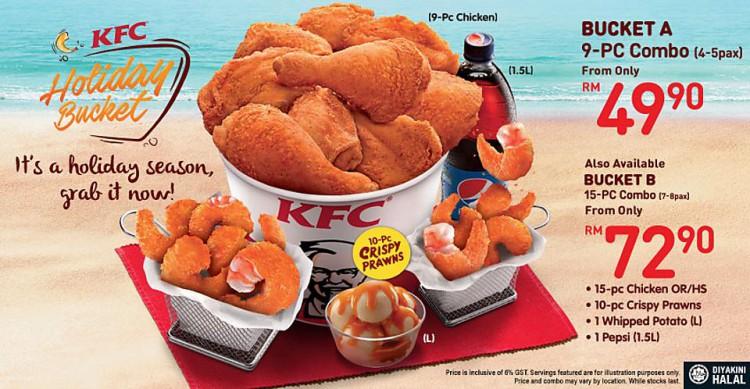 KFC Holiday Bucket | LoopMe Malaysia