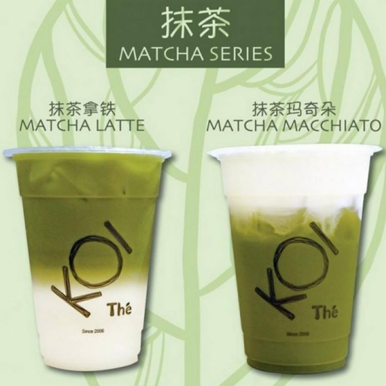 New KOI The Matcha Series