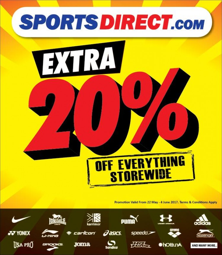 Nov 12, · Home > Stores > S > Sports Direct Fitness Discount Code Sports Direct Fitness Discount Code Grab yourself a bargain with this fantastic deal that entitles you to get £20 Off when you Join Sports Direct. Grab yourself a bargain with more. Show Code. soon 0 0. £20 OFF.