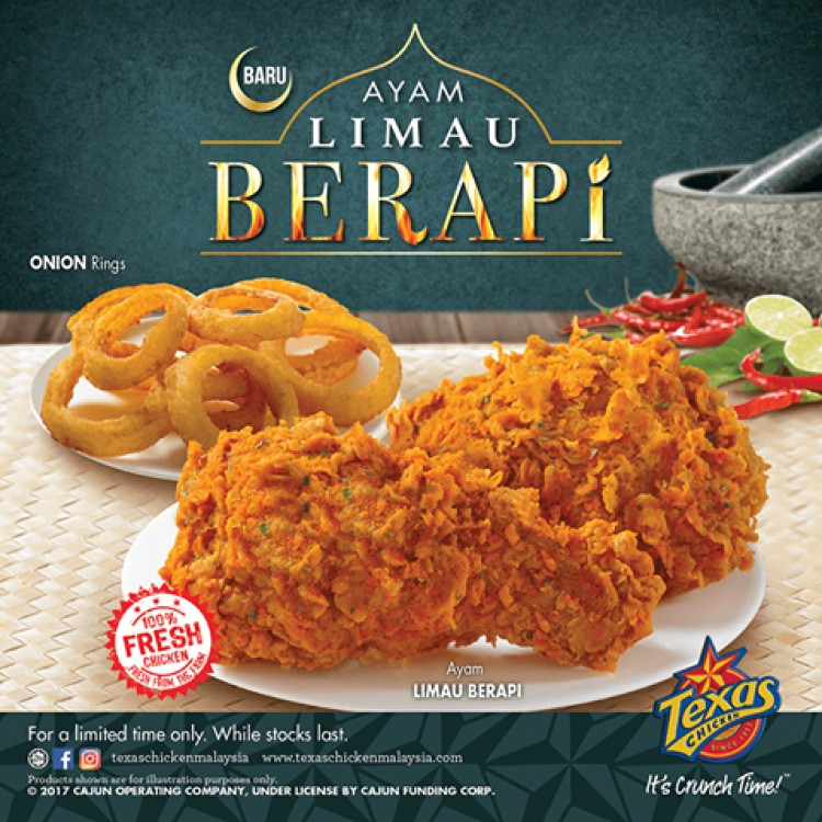Image result for ayam berapi texas chicken