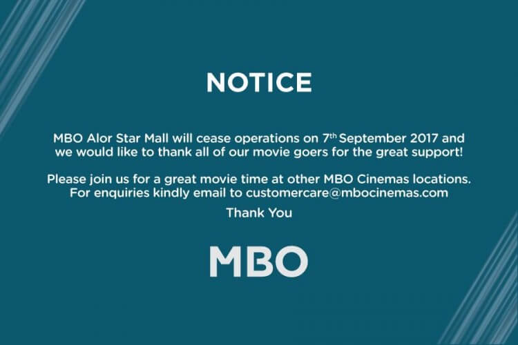 Mbo Alor Star Mall Ceased Operation Loopme Malaysia