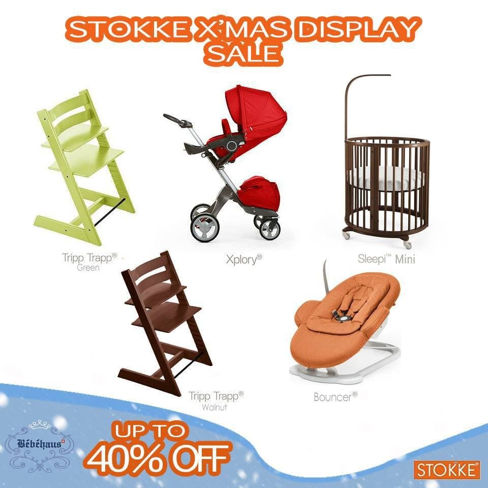 stokke x mas display sale at bebehaus loopme malaysia