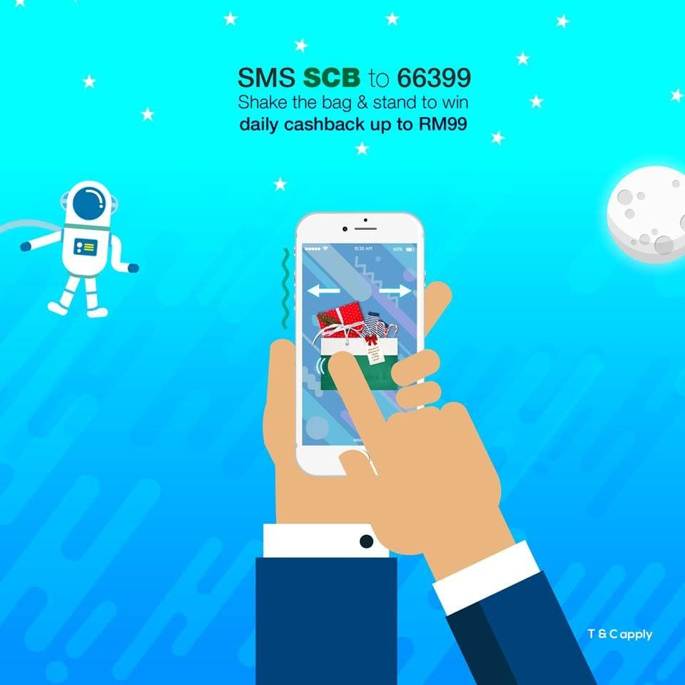 Shake and win with standard chartered credit cards loopme malaysia reheart Gallery