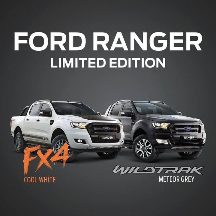 limited edition ford ranger fx4 in cool white and ford. Black Bedroom Furniture Sets. Home Design Ideas