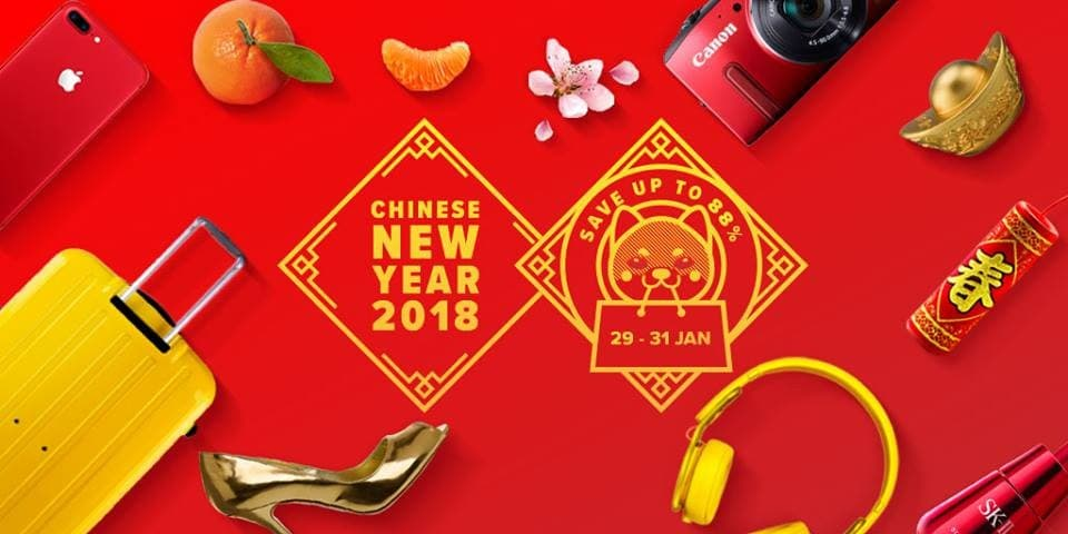 Lazada Chinese New Year 2018 Sale | LoopMe Malaysia