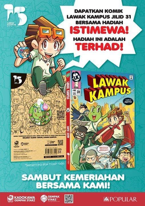 Lawak Kampus Comic Promotion At Popular Bookstore Loopme Malaysia