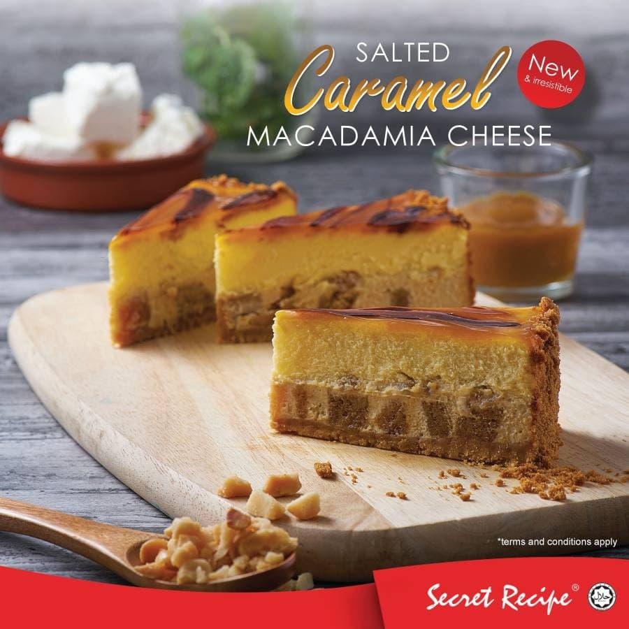 New secret recipe salted caramel macadamia cheesecake cake loopme new secret recipe salted caramel macadamia cheesecake cake loopme malaysia forumfinder Choice Image