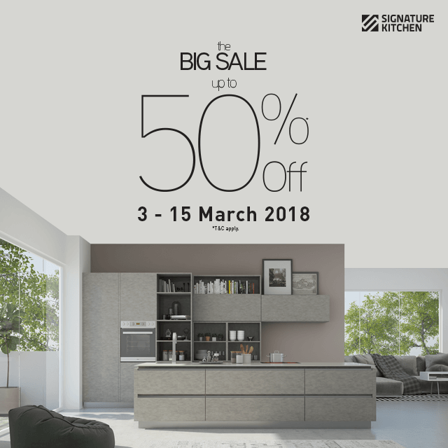 Kitchen Decoration Malaysia: Signature Kitchen Big Sale