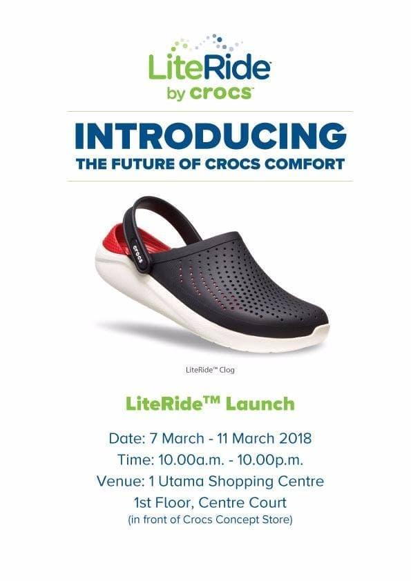 dc88dfa192 Crocs LiteRide Launch