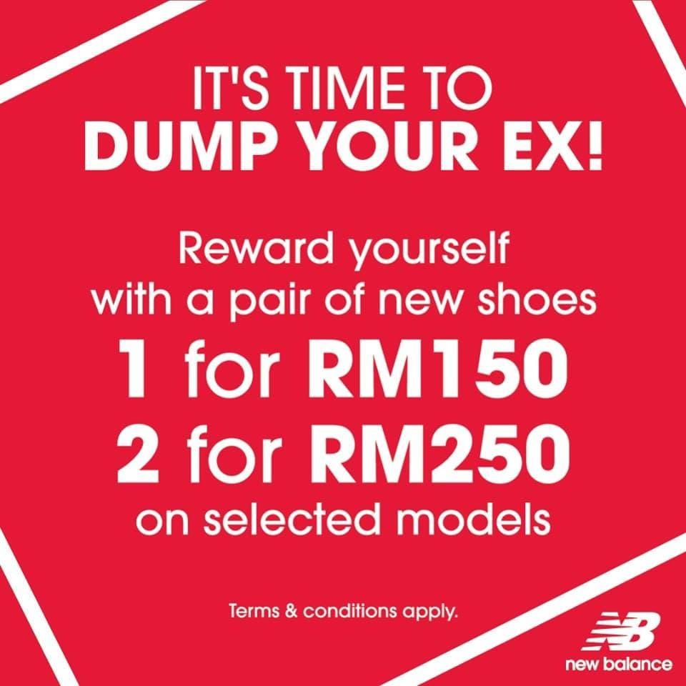 ec4ee411db99 New Balance Dump Your Ex Promotion