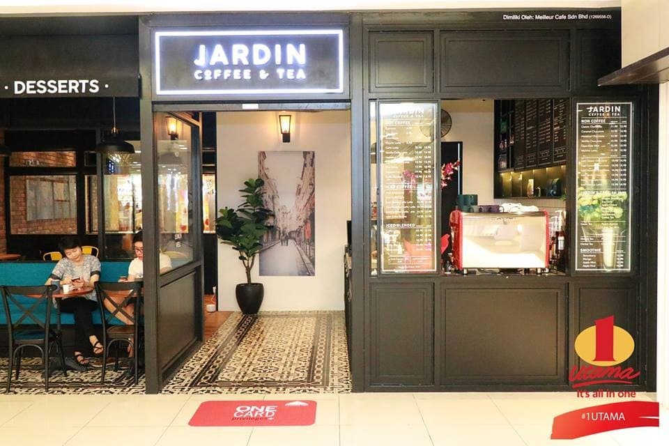 New Jardin Coffee Tea Outlet At 1 Utama Loopme Malaysia